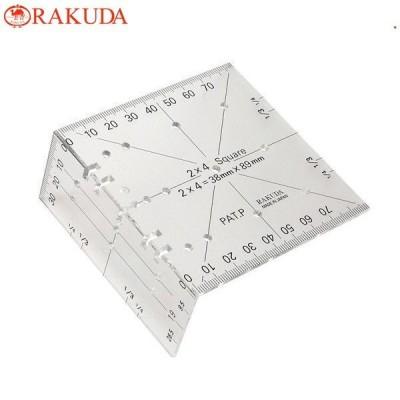 ラクダ ツーバイフォー定規 2×4材 曲尺 木材 日本製 大工用品 距離測定道具