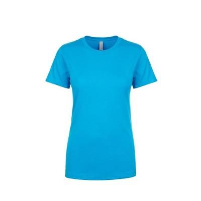 レディース 衣類 トップス Next Level NL3900 - Women's Boyfriend Tee X-Small Turquoise Tシャツ
