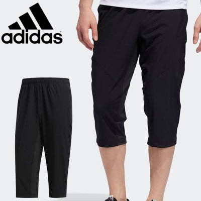 7分丈パンツ ウィンドブレーカー カプリパンツ メンズ/アディダス adidas M COOL 3/4 パンツ ウーブン/スポーツウェア トレーニング 男性 /FXT77-DY7876