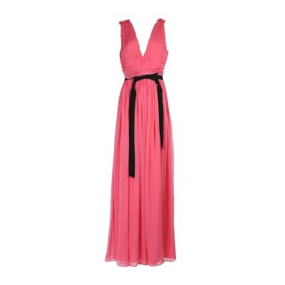 マルコ ボローニャ MARCO BOLOGNA ロングワンピース&ドレス フューシャ 44 シルク 100% ロングワンピース&ドレス