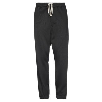 リック オウエンス RICK OWENS パンツ ブラック 52 コットン 50% / レーヨン 50% パンツ