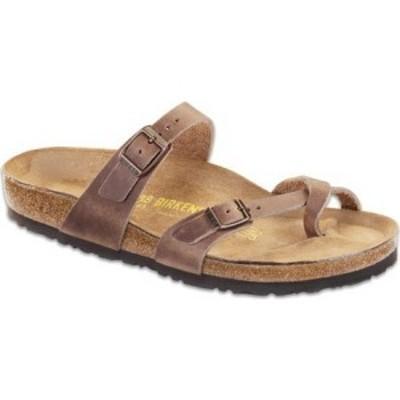 ビルケンシュトック Birkenstock レディース サンダル・ミュール シューズ・靴 Mayari Oiled Leather Sandal Tobacco Oiled Leather