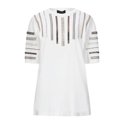 LES BOURDELLES DES GARÇONS T シャツ ホワイト 42 コットン 100% T シャツ
