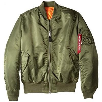 カシオ メンズウォッチ 腕時計 Alpha Industries Men's MA-1 Flight Bomber Jacket 正規輸入品
