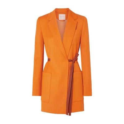 ROKSANDA ライトコート オレンジ 8 レーヨン 56% / ウール 39% / シルク 3% / ポリウレタン 2% ライトコート