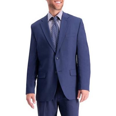 ハガー メンズ ジャケット・ブルゾン アウター Stretch Travel Performance Solid Tailored Fit Suit Coat