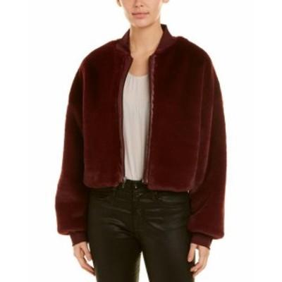 Nicole ニコール ファッション 衣類 Nicole Miller Artelier Leather-Trim Jacket S