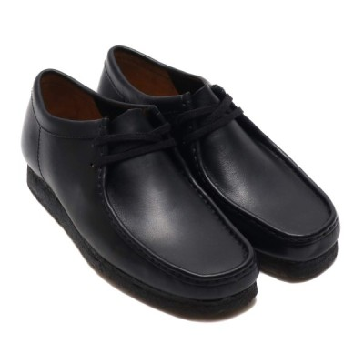 クラークス Clarks ブーツ ワラビー (Black Leather) 18FW-I