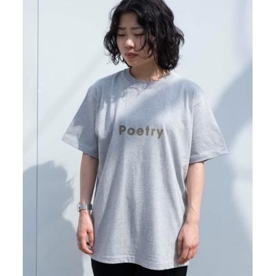 tシャツ Tシャツ 【POET MEETS DUBWISE】Poetry Tシャツ