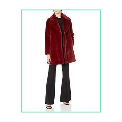 Soia & Kyo Women's Renada Ladies Coat, Faux Fur, Oxblood, XXL並行輸入品