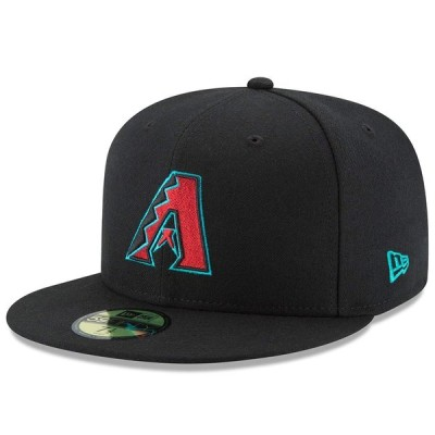 ダイヤモンドバックス キャップ ニューエラ NEW ERA  MLB オーセンティック オンフィールド 59FIFTY オルタネート 平つば キャップ 特集