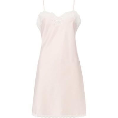 ラルフ ローレン Lauren Ralph Lauren Bodywear レディース スリップ・キャミソール インナー・下着 Satin and lace chemise Pink