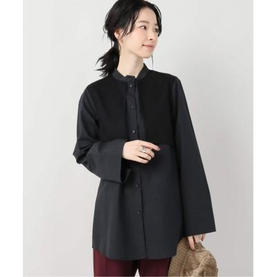 レディース ボナム オーガンジーレイヤードシャツ ブラック フリー
