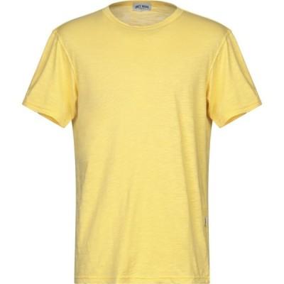 ユニットメイド UNIT MADE メンズ Tシャツ トップス T-Shirt Yellow
