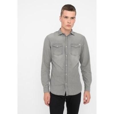 ジャック アンド ジョーンズ メンズ シャツ トップス JJESHERIDAN SLIM - Shirt - light grey light grey
