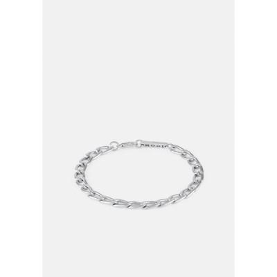 アイコンブランド ブレスレット・バングル・アンクレット メンズ アクセサリー DECO NUANCE CHAIN BRACELET - Bracelet - silver-coloured