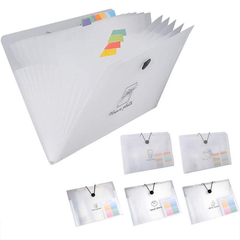 12層 A4透明資料夾 風琴包 文件夾 文件扣 收納夾 分類夾 收納袋 送索引貼 【JC4262】《Jami》