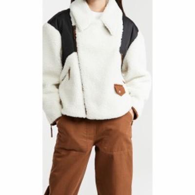 フレーム FRAME レディース ジャケット アウター Fleece Mix Jacket Off White Multi