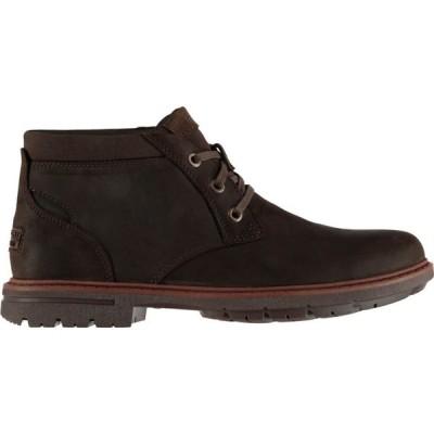 ロックポート Rockport メンズ ブーツ チャッカブーツ シューズ・靴 Buck Chukka Boots Dark Chocolate