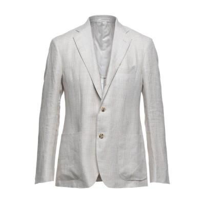 サルトリオ SARTORIO テーラードジャケット ベージュ 52 リネン 100% テーラードジャケット