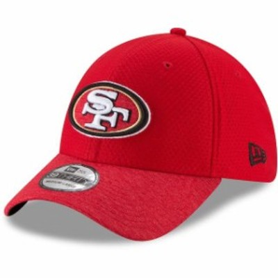 New Era ニュー エラ スポーツ用品  New Era San Francisco 49ers Scarlet Popped Shadow Team 39THIRTY Flex Hat