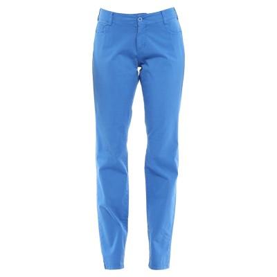 CHAPEAU パンツ ブルー 42 コットン 98% / ポリウレタン 2% パンツ