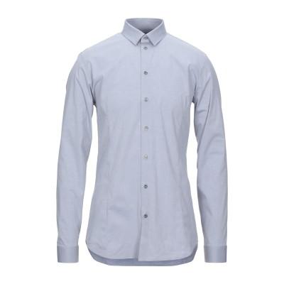 パトリツィア ペペ PATRIZIA PEPE シャツ グレー 44 コットン 97% / ポリウレタン 3% シャツ
