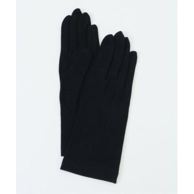 (ikka/イッカ)クレンゼ抗菌加工グローブ/レディース ブラック