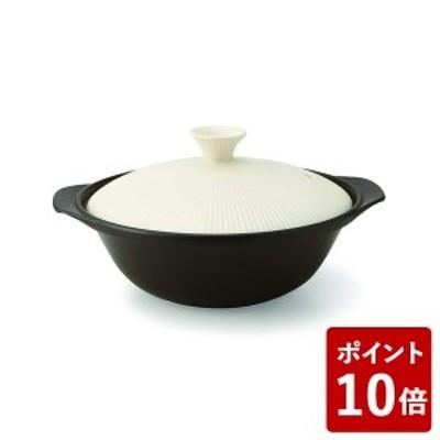 全品P5~10倍 丸利 サーマテック 直火土鍋 アイボリー 6.5号 TDF04-610