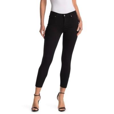 ペイジ レディース デニムパンツ ボトムス Verdugo Crop Raw Hem Skinny Jeans BLKOVERDYE