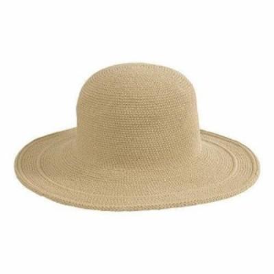 San Diego Hat  ファッション 帽子 San Diego Hat Company Womens  Cotton Crochet Hat Large Brim CHL5
