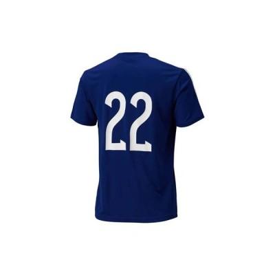 日本代表  14  ホーム レプリカTシャツ No.22 ブルー IKF56