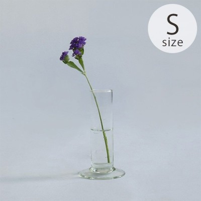 フラワーベース 花瓶 ガラス シンプル おしゃれ Horn Please ホーン プリーズ リューズガラス フラワーベース アルト S