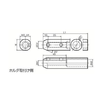 京セラ 内径加工用ホルダ SHA1019−120 1個 (メーカー直送)