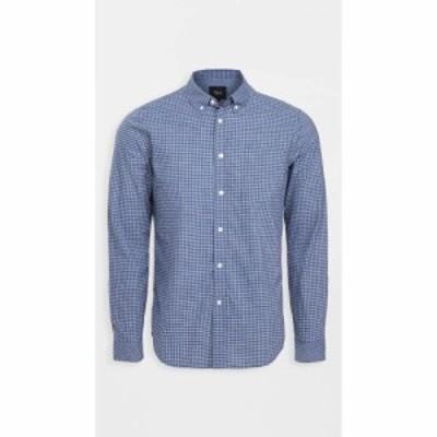 レイルズ RAILS メンズ シャツ トップス Reid Shirt Blue/Grey Check