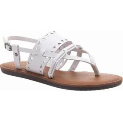 Madeline レディースサンダル Madeline Bon Bon Thong Sandal White Synthetic