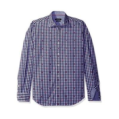 Bugatchi SHIRT メンズ カラー: ブルー
