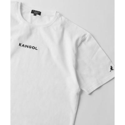 tシャツ Tシャツ 【別注・コラボ】ZIP FIVE × KANGOL プリント半袖Tシャツ【ユニセックス】