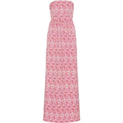 レベッカ ヴァランス Rebecca Vallance レディース パーティードレス ワンピース・ドレス Estelle floral strapless gown Ivory Floral