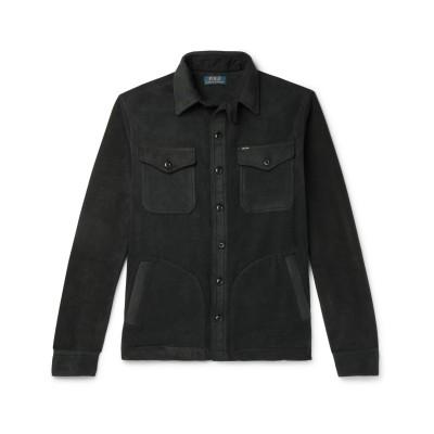POLO RALPH LAUREN シャツ ブラック XS ポリエステル 97% / ポリウレタン 3% シャツ