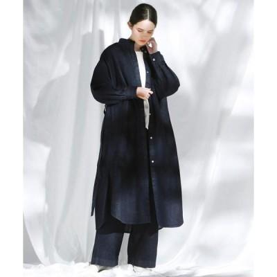 Pao・de・lo / パオデロ 【THE NEW DENIM PROJECT】アップサイクルデニムロング丈羽織