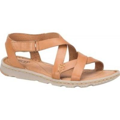 ボーン Born レディース サンダル・ミュール シューズ・靴 Trinidad Strappy Sandal Tan Full Grain Leather