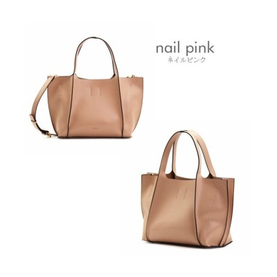 (RM STORE/アールエムストア)【ANDSHIN】BELL(ベル)2way hand bag(2ウェイハンドバッグ)/レディース ピンク