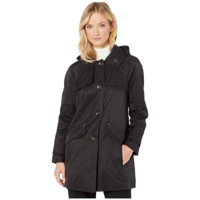 ロンドンフォグ レディース コート アウター Beth Walker Coat with Removable Hood
