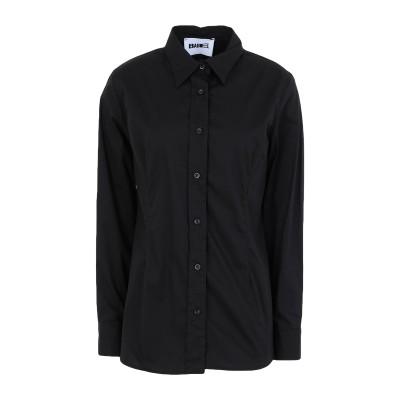BABEL シャツ ブラック S コットン 98% / ポリウレタン 2% シャツ