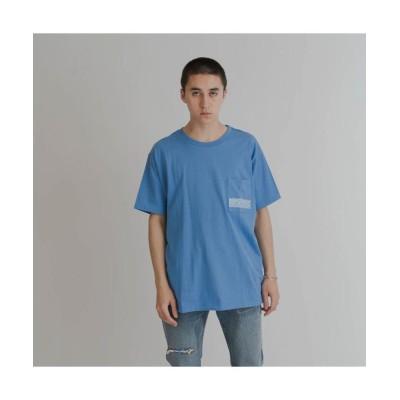 【リーバイス】 POCKET Tシャツ BLUE STRIKE BLUE/WHITE メンズ BLUES L- Levi's
