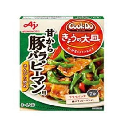 送料無料 味の素 CookDo(クックドゥ) 甘から豚バラピーマン用 100g×10個入