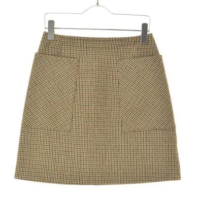 IENA / イエナ 18AW チェック台形スカート スカート