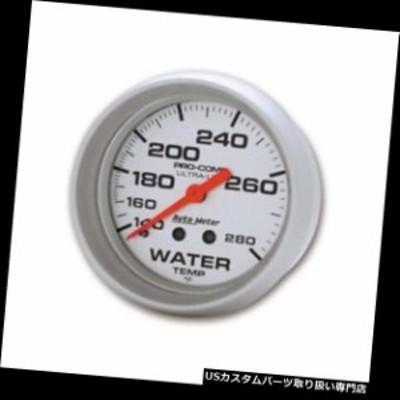 タコメーター オートメーター4431ウルトラライトメカニカル水温計、2-5 / 8  Auto Meter 4431 Ultr