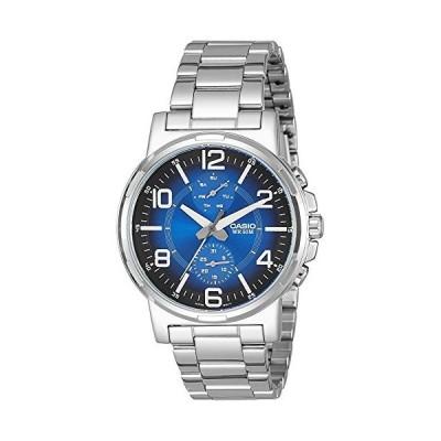 腕時計 カシオ メンズ MTP-E313D-2B1VDF (A1212) Casio MTP-E313D-2B1V Men's Enticer Stainless Steel Mult